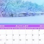 calendario personalizado