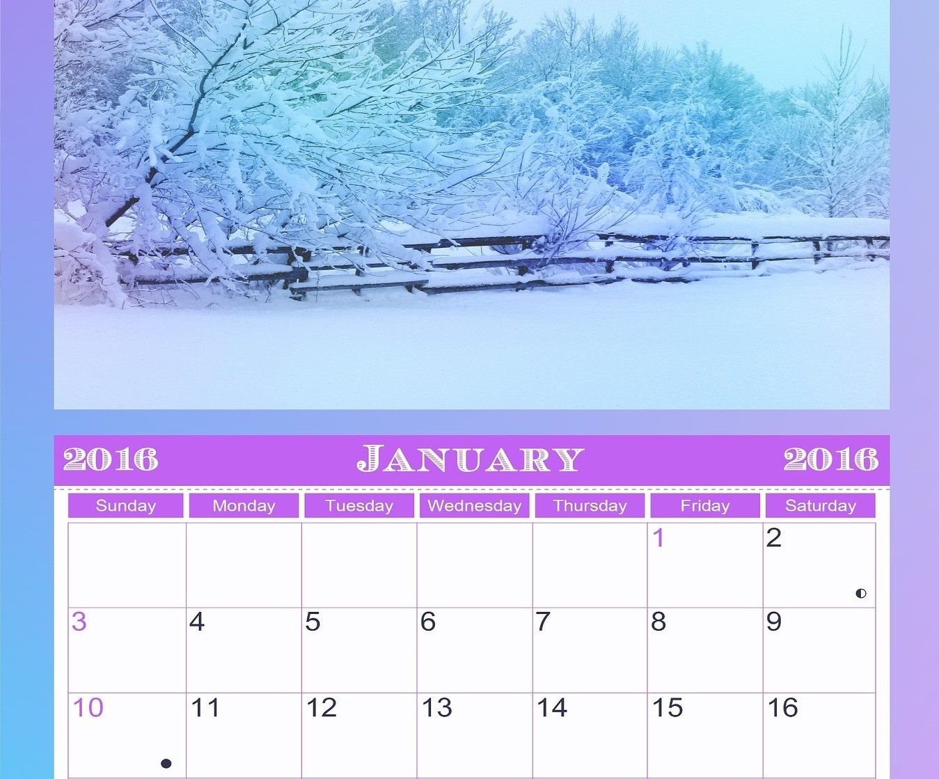 Cómo hacer un calendario personalizado para financiar un viaje de fin de curso